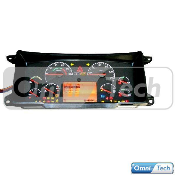 Volvo B9 Dash Cluster 70398585 ETC Complete   Omni-Tech